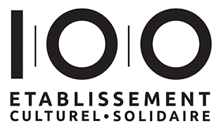 Le 100 - etablissement culturel et solidaire, Paris - logo